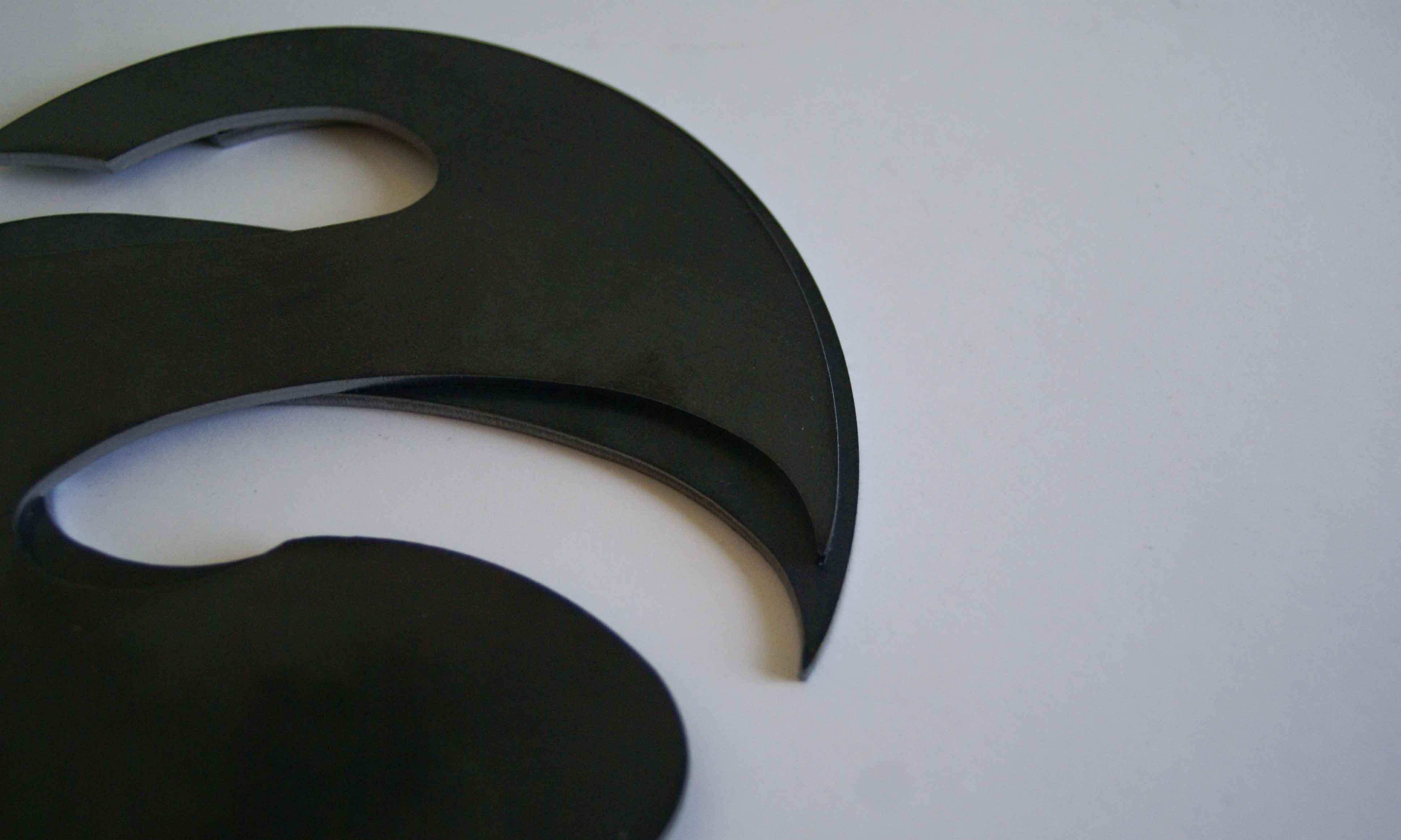 Steel S sculpteo