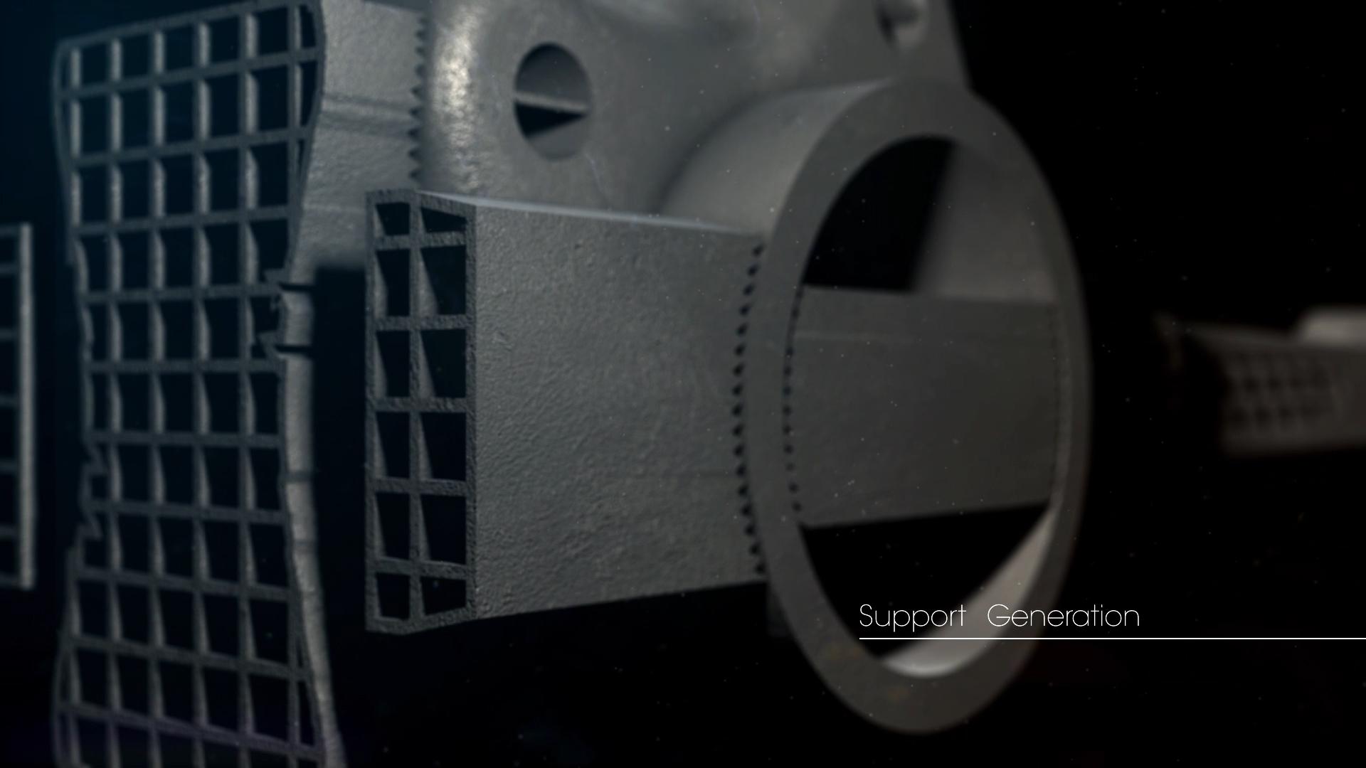 Metal 3D Printing Support Generator