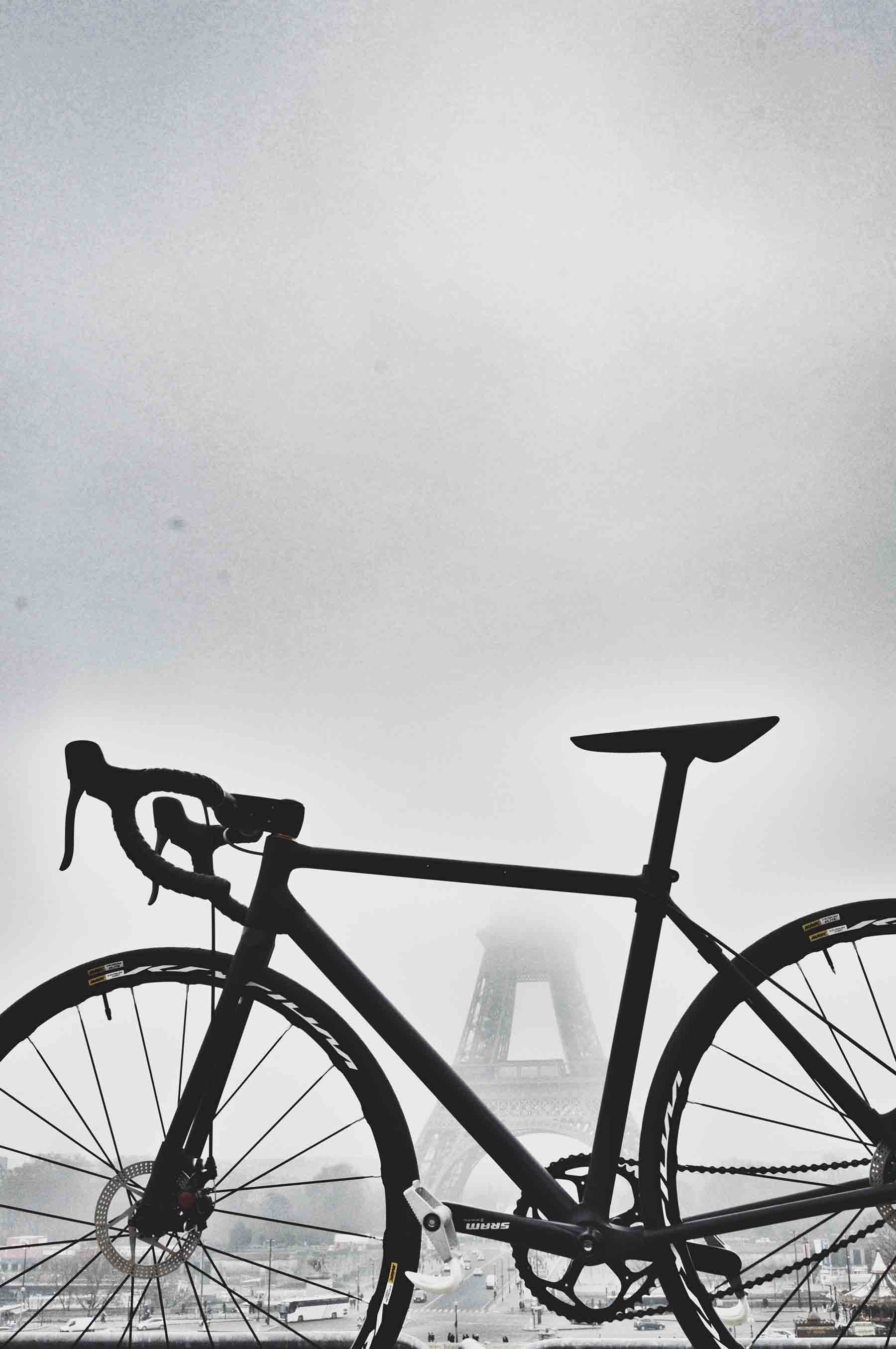 cloud effect and bike