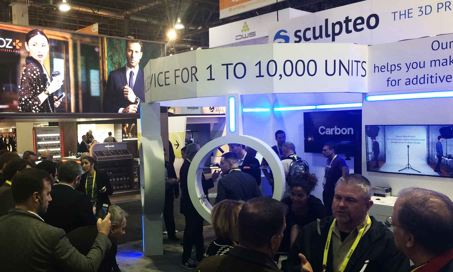 CES 2017: Sculpteo presents Agile Metal Technology (AMT) & digitale manufactory