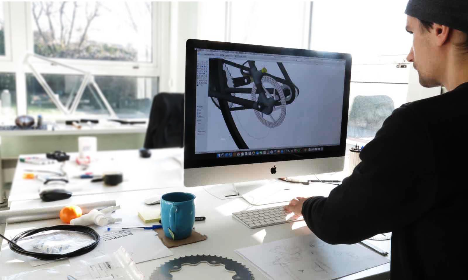 Piotr Bike Laser Cutting Sculpteo Bike Project