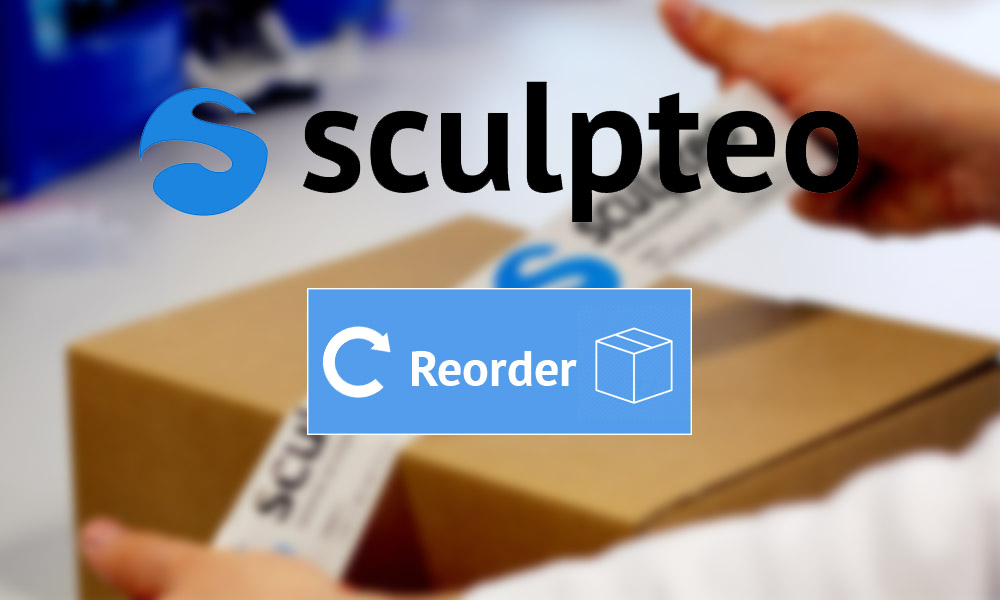 "The Reorder button makes your 3D print shop easier like ""Amazon Dash"""