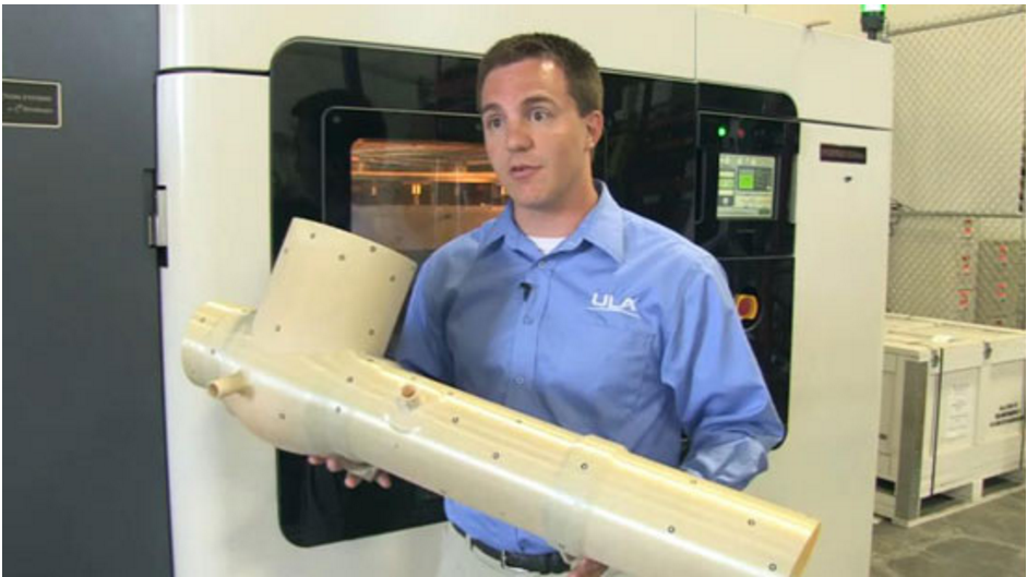 ULA - integrated assembly - source: Stratasys