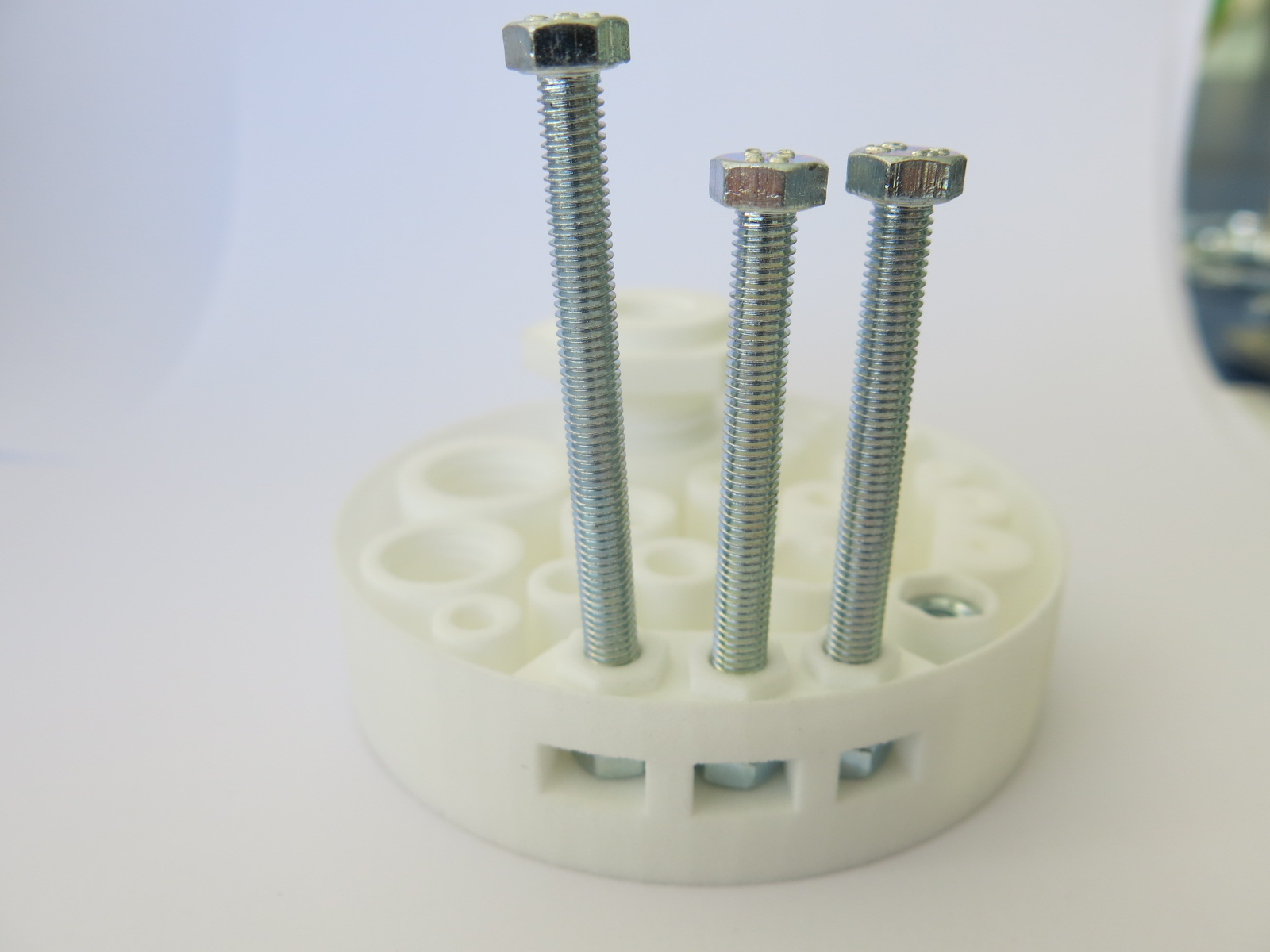 3D printed screws and threads