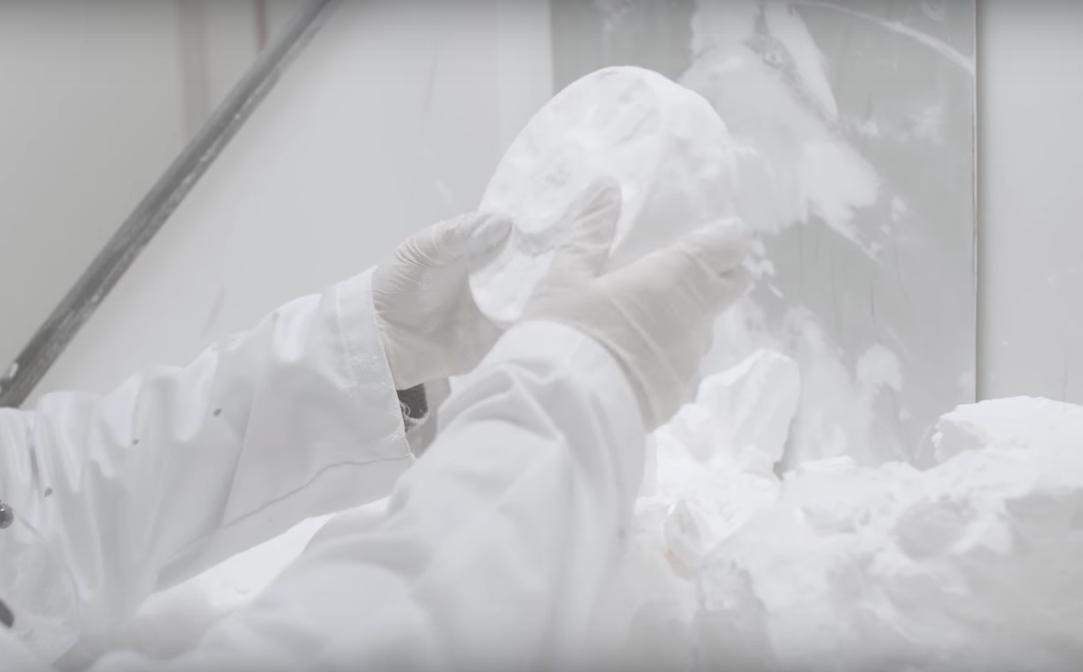3D printing un powdering