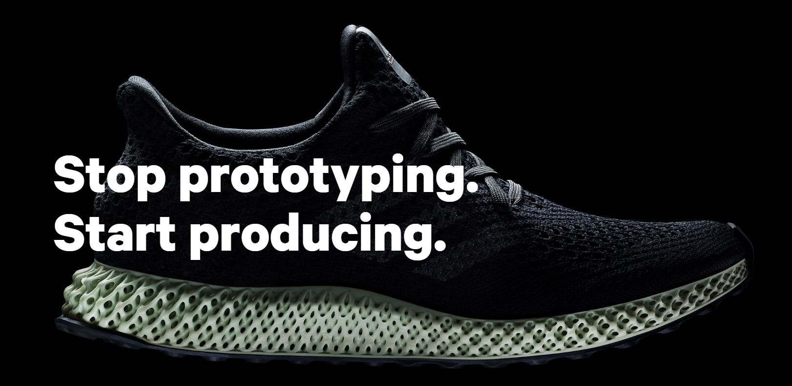 3Dprinted shoe FutureCraft 4D