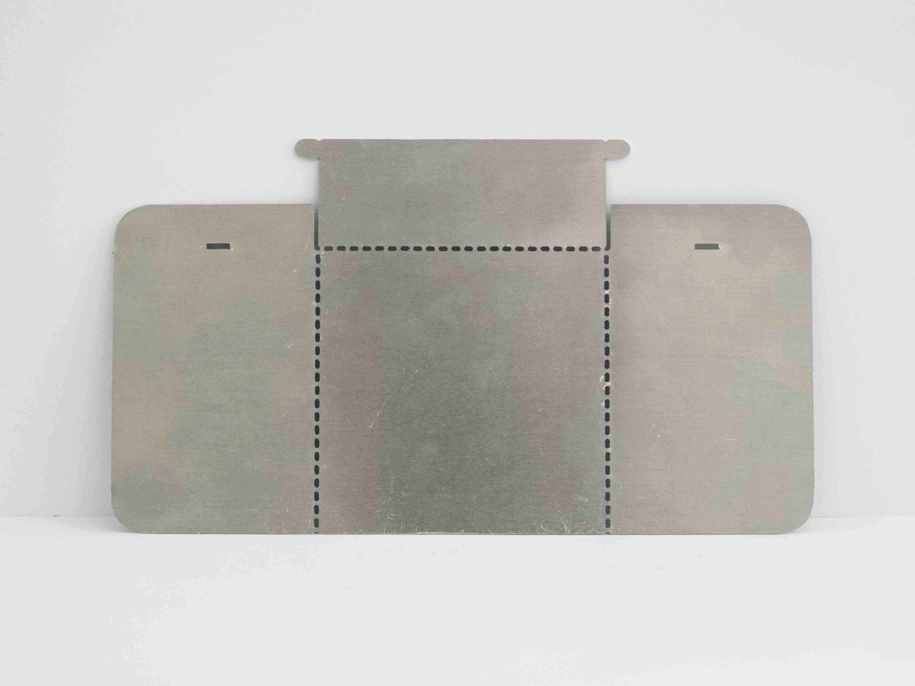 maser cut metal box template