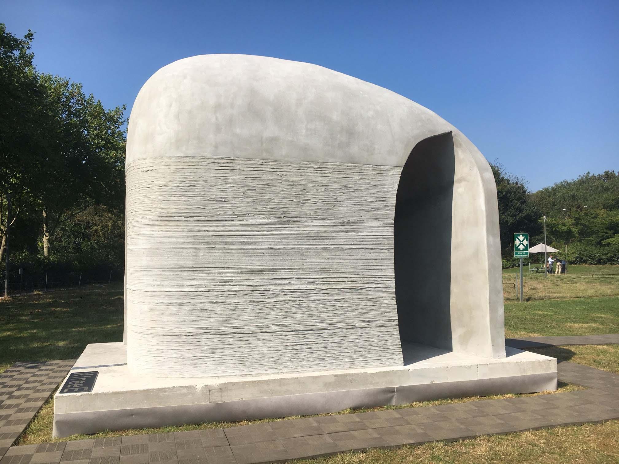 Xtree 3D Printed Pavilion