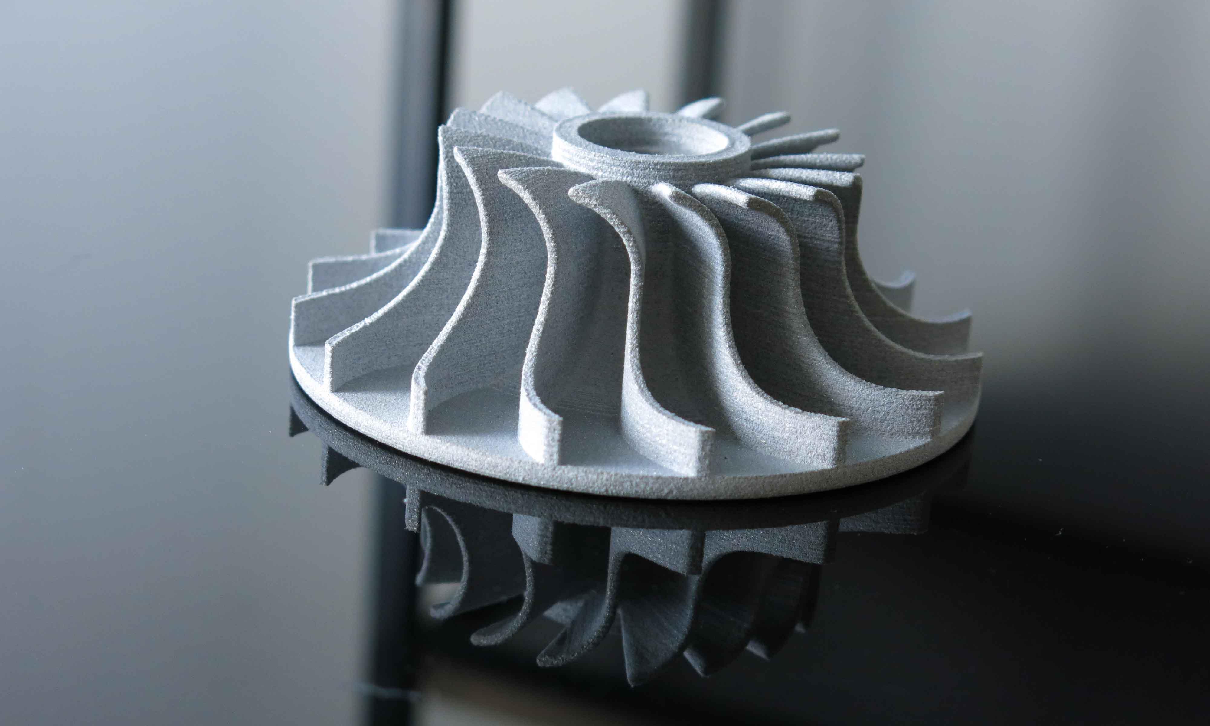 Alumide 3D printing turbine