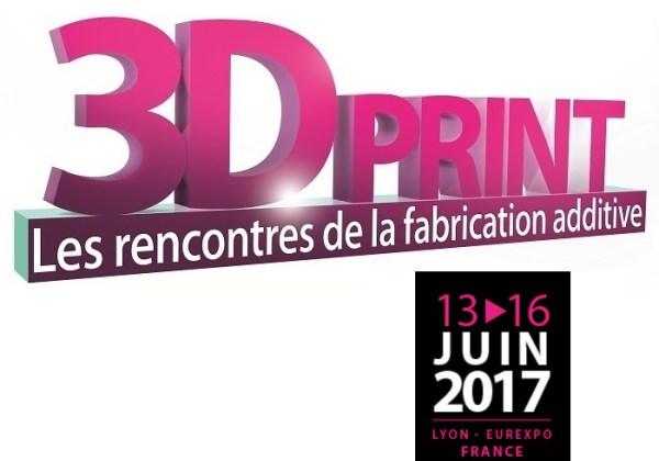 Venez nous rendre visite au salon 3D Print, à Lyon !