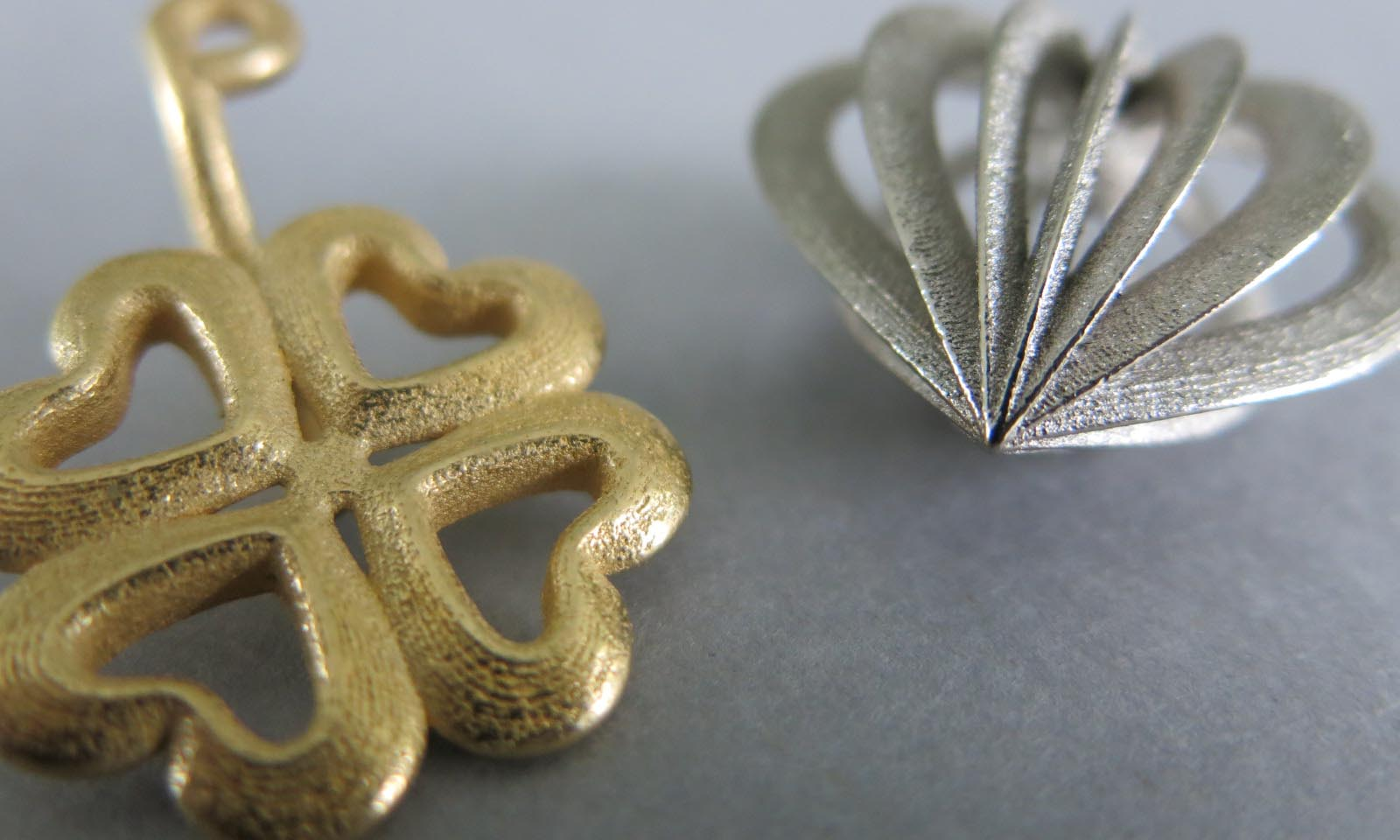 3D printed jewelry with Binder Jetting Stainless Steel