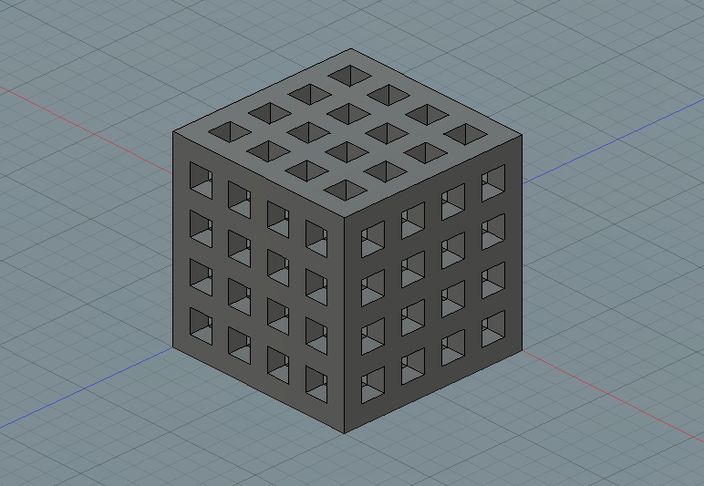 Modified Cube parameters
