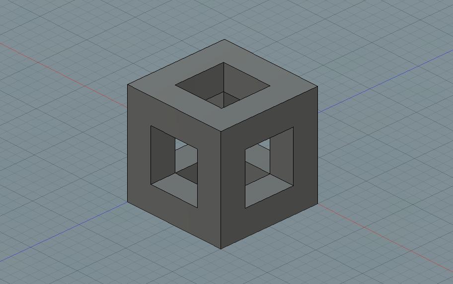 Parametric cube