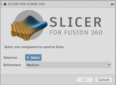 Slicer Fusion360