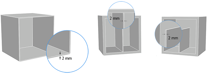 Wall Thickness Enclosure