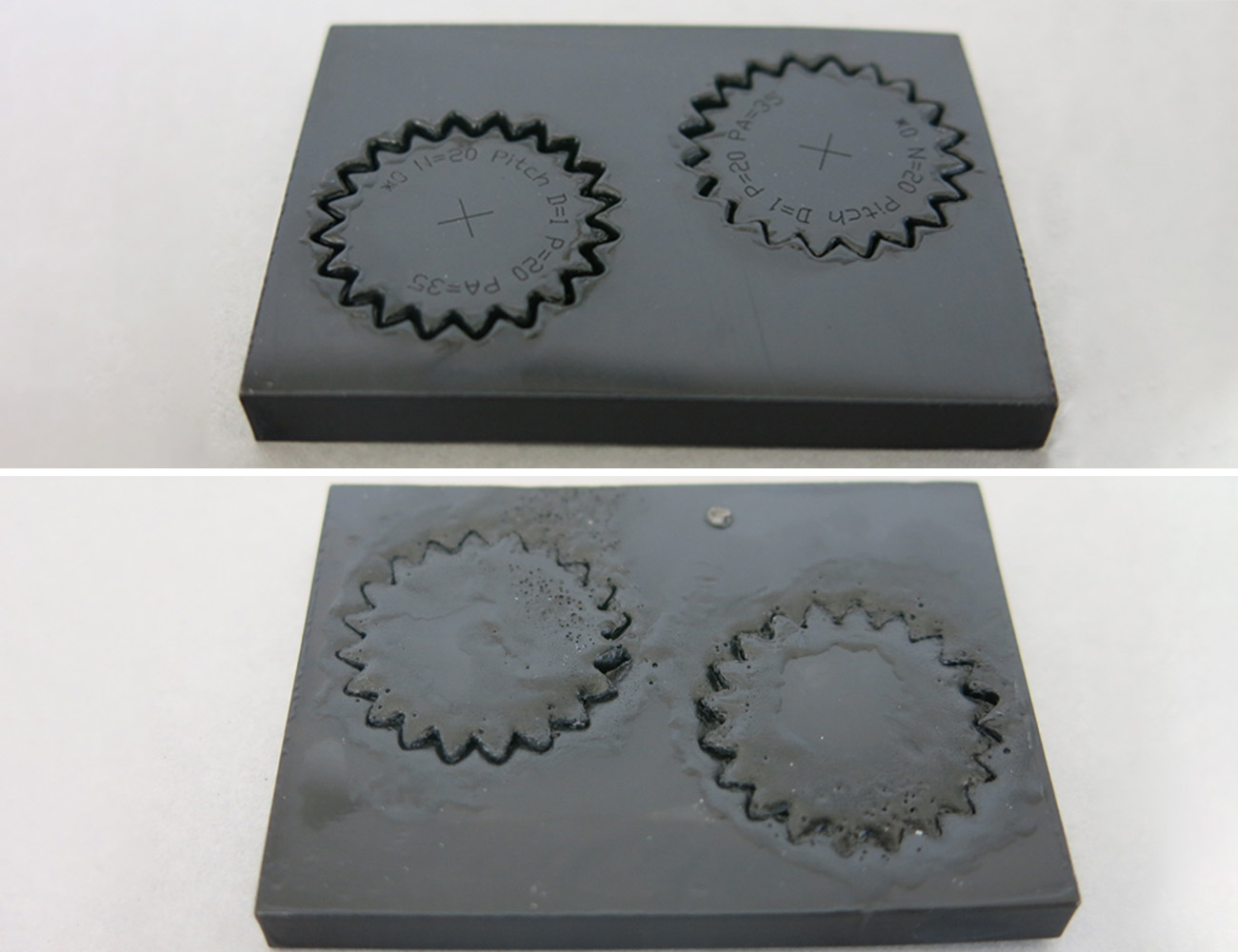 smallest gear 5mm black pom 35