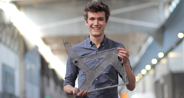 3D printed plane seat