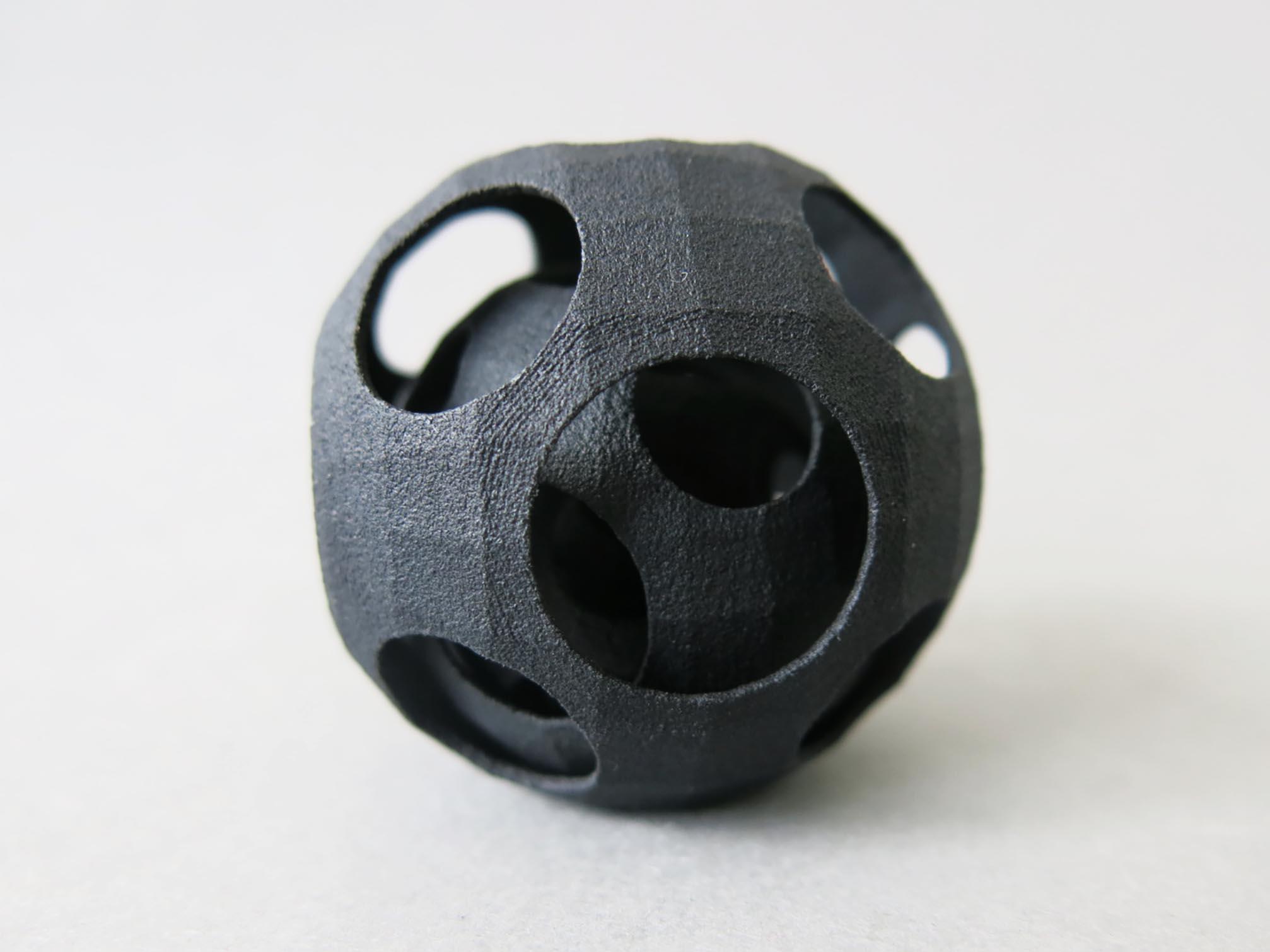 Hp black plastic material