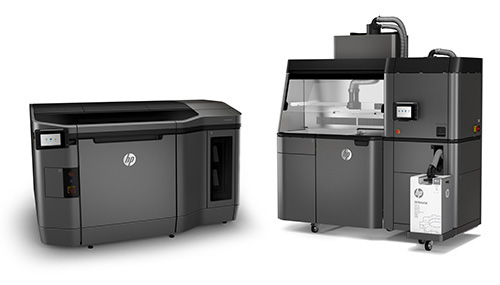 Hp Multi Jet Fusion 3D printer