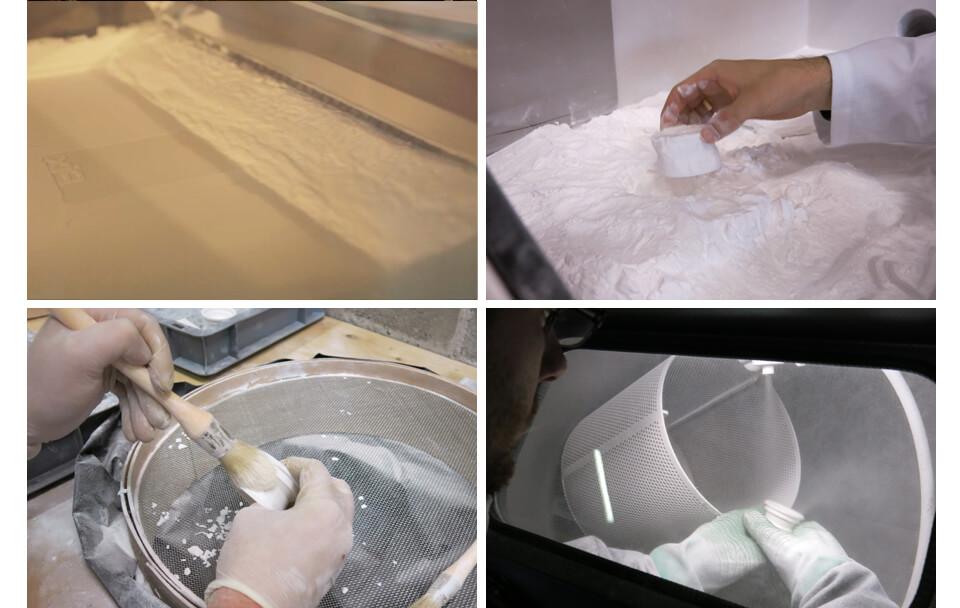 SLS 3D printing technology