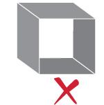 Non-manifold geometry error open objects