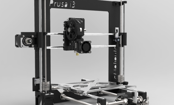 Prusa Self-Replicating 3D printer