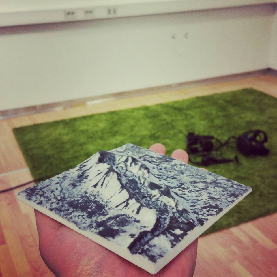 3D printed landscape