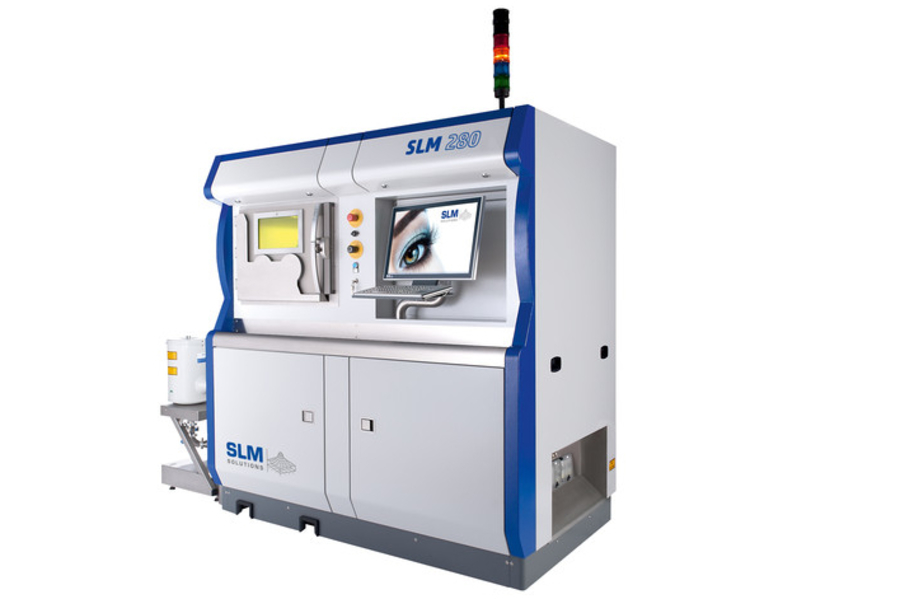 SLM 280 metal 3D printer
