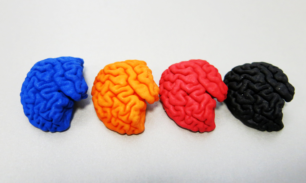 Available colors for the new finishes for 3D printed plastic parts