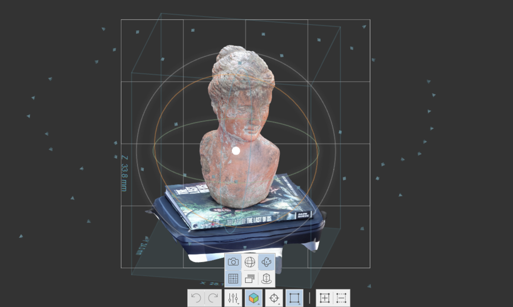 3D scanning with a smartphone