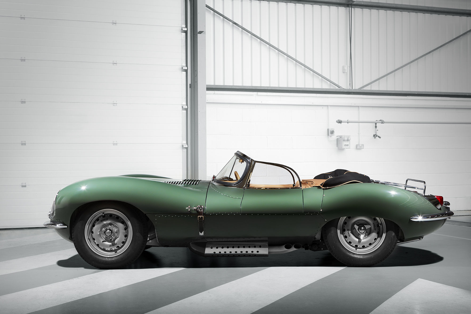 Jaguar XKSS 3D printed car