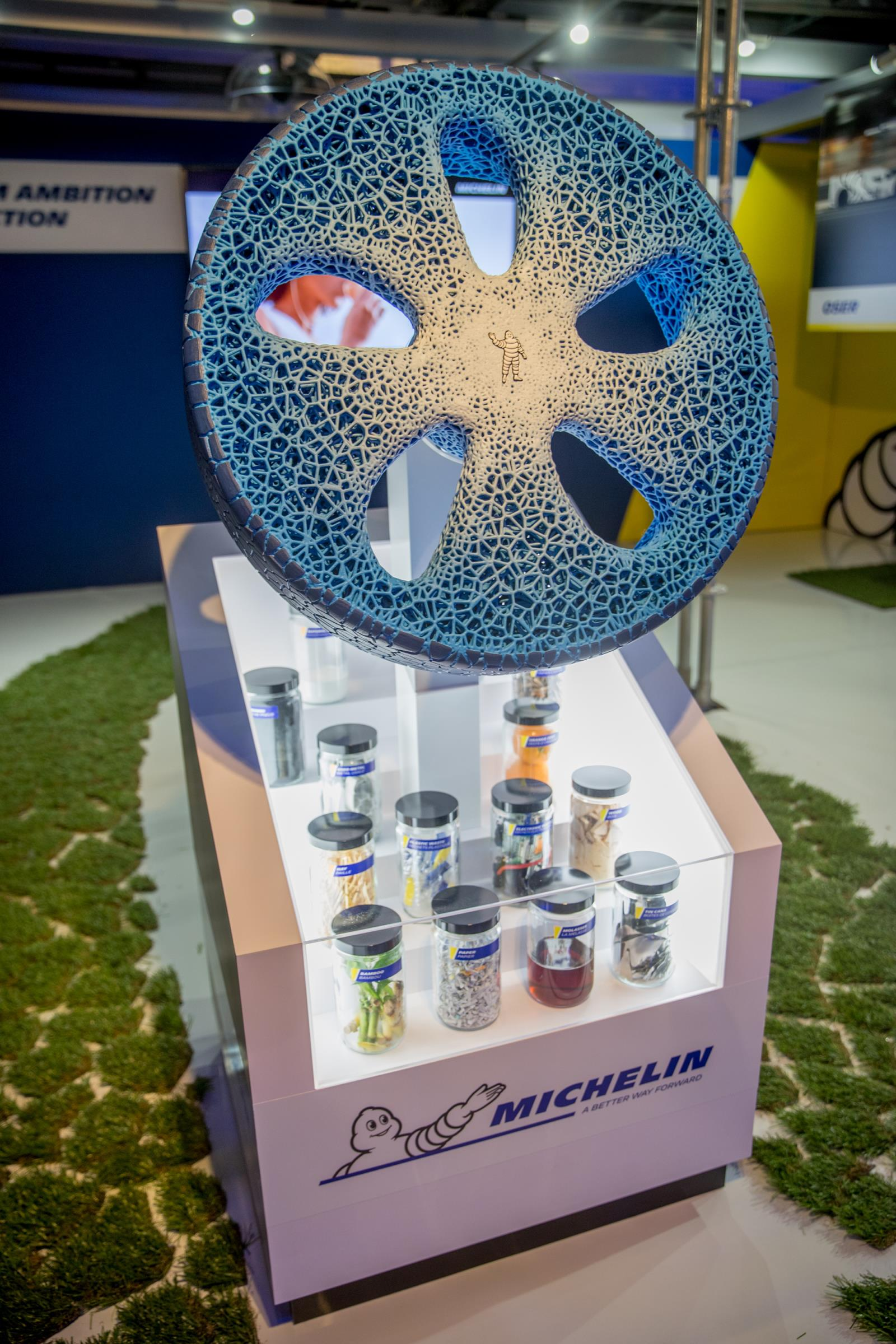 Vision 3D printed wheel by Michelin