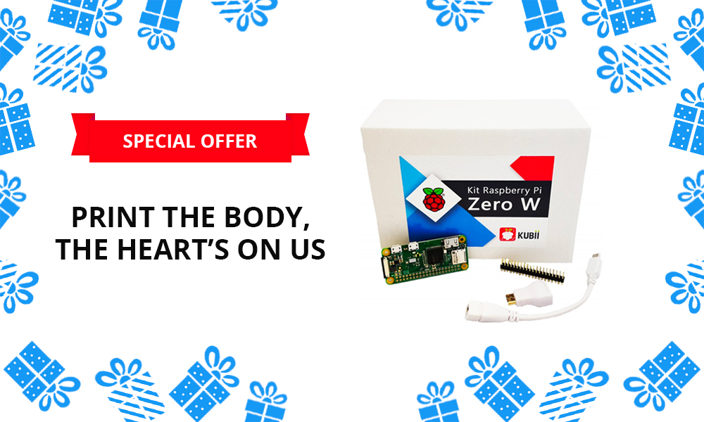 Special offer for Christmas: Get a free Raspberry Pi!