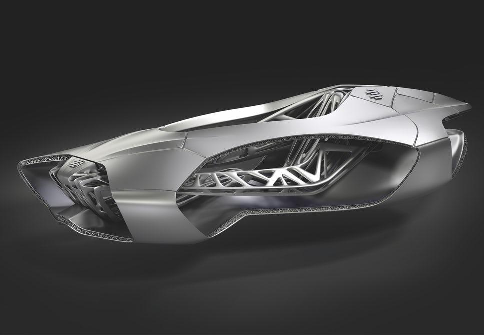 Genesis 3D printed car by EDAG