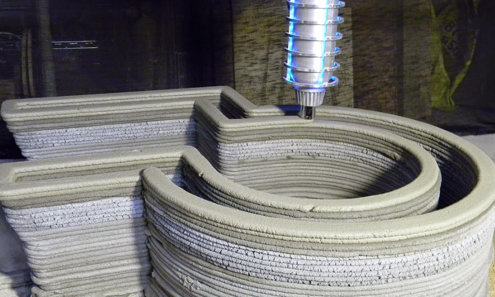 Concrete 3D printer: the new challenge of the construction business