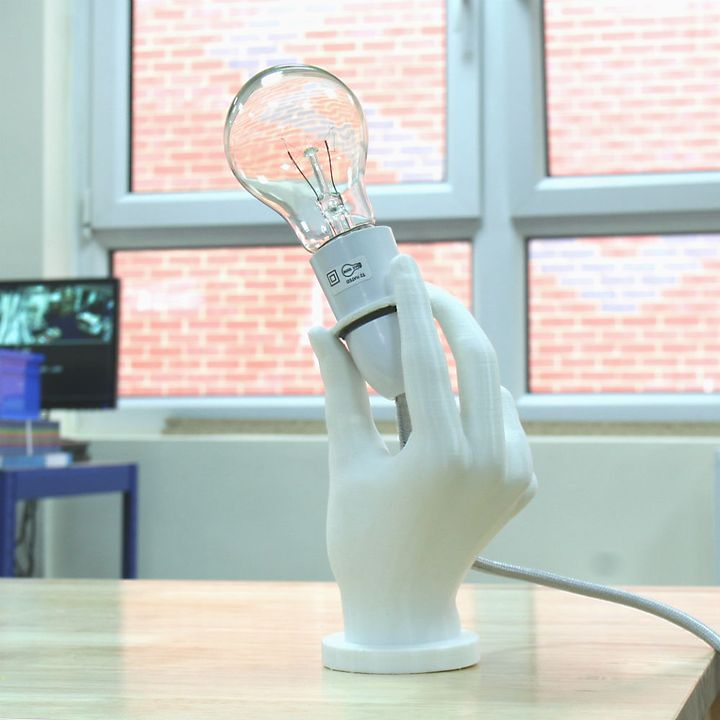 3d printed Light Me Up Lamp