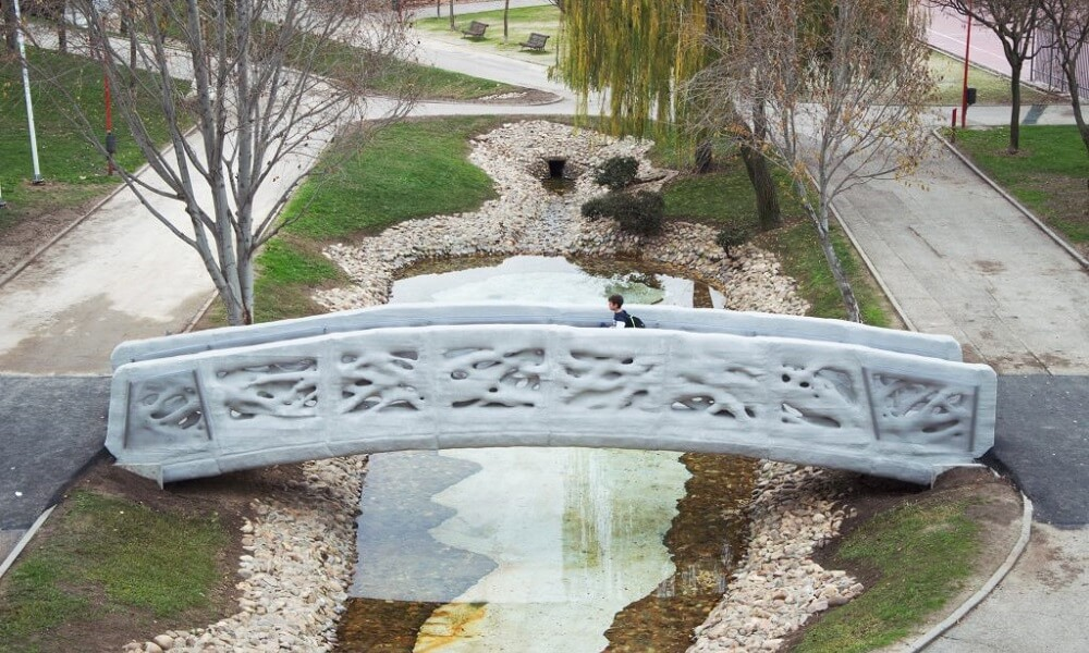 3D printed bridge: The most impressive structures