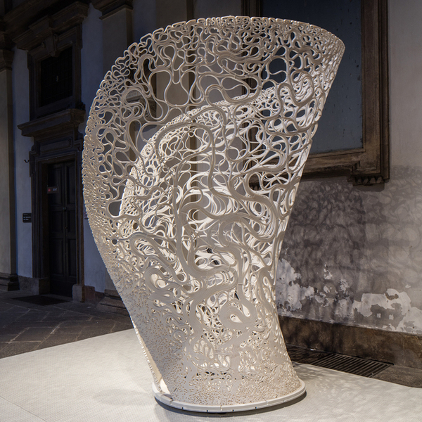 Parametrically designed 3D Printed Experimental Structure