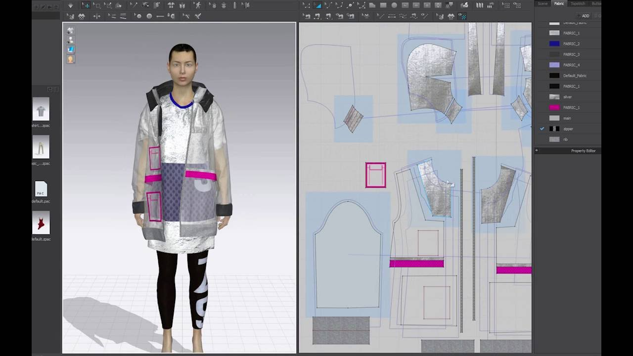 Cad fashion design tutorial 57