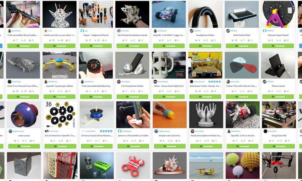 Die besten Seiten für 3D-Designs und 3D-Modelle
