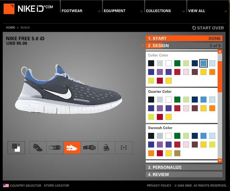 Nike Design Own Shoe