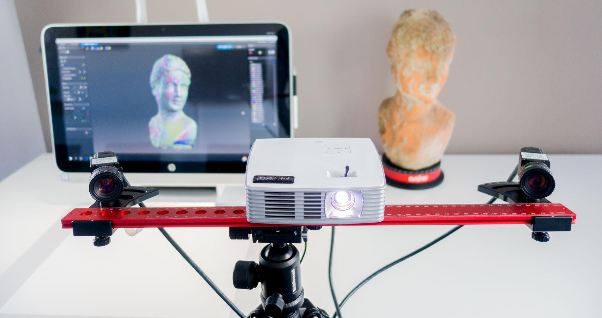HP 3D Streifenlicht-Scanner Pro S3