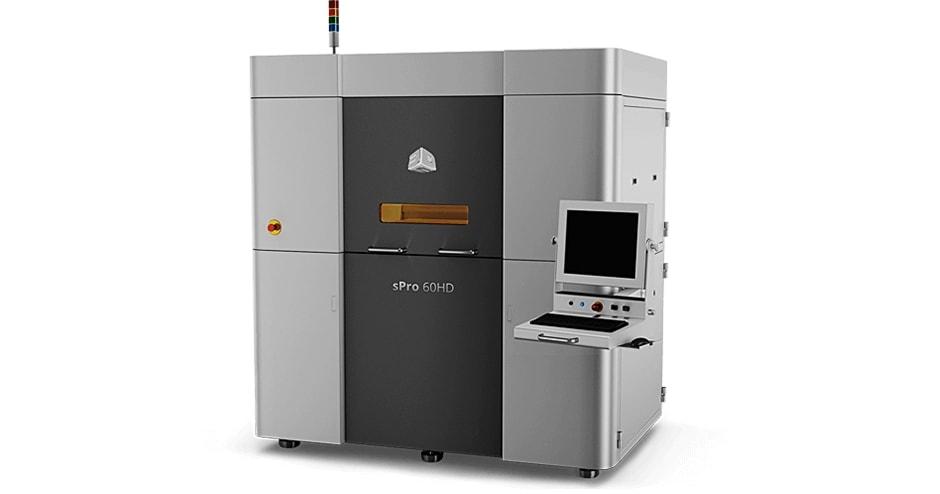 3D-Drucker: sPro 60 HD-HS