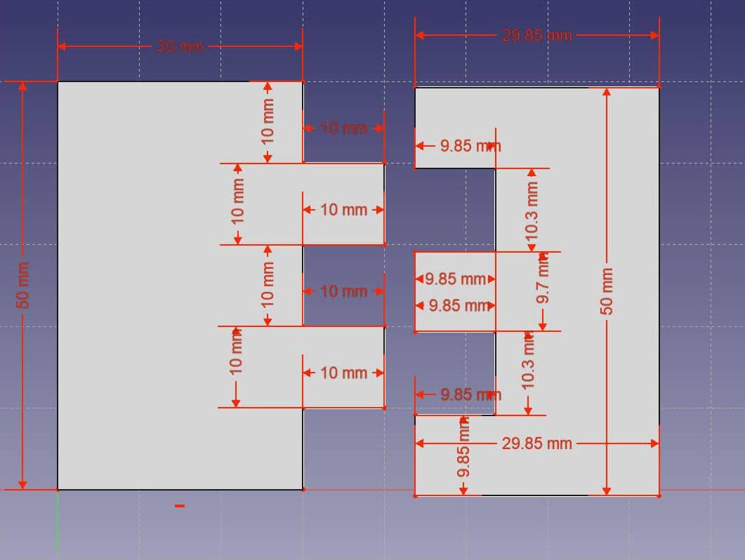 interlocking parts 3d printed