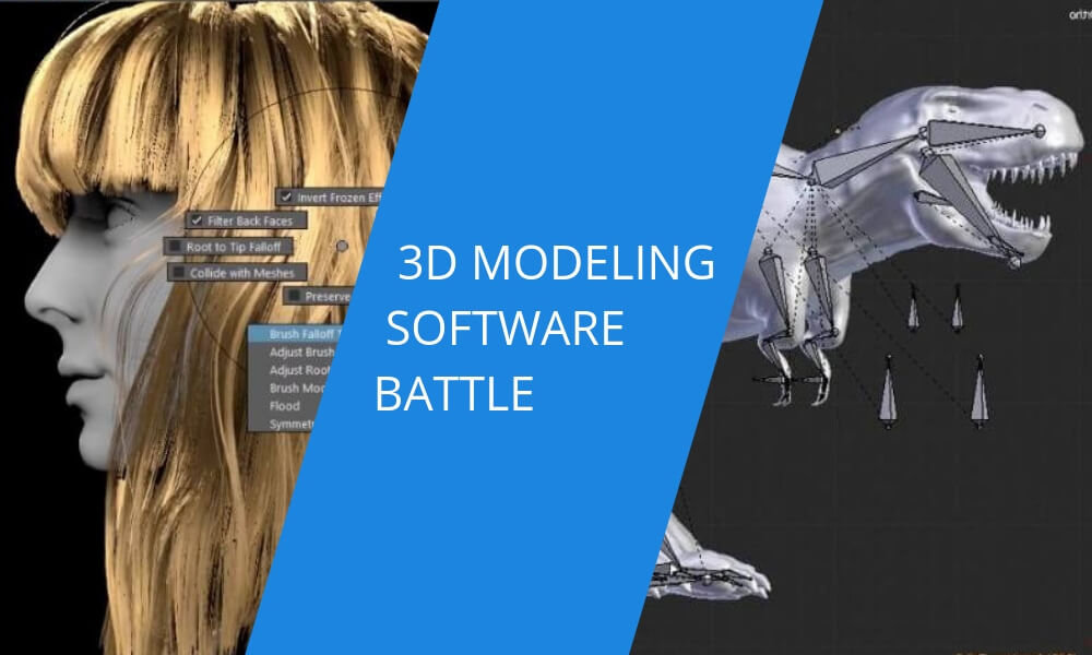 3D software battle: Blender vs Maya