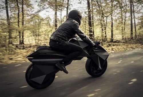 3D printed motorcycle