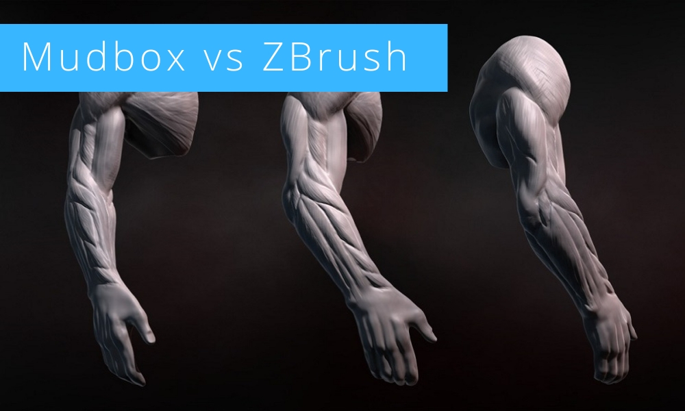 Battle of Software 2021: Mudbox vs ZBrush
