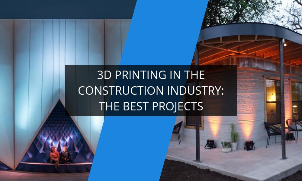 The best projects of 3D printing in the construction industry