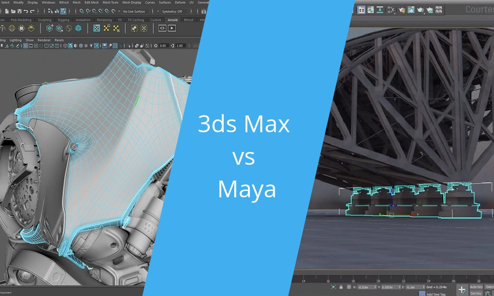 Battle of Software: 3ds Max vs MAYA