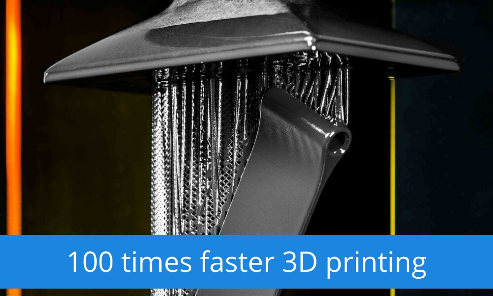 Wondering how to 3D print faster? With light!